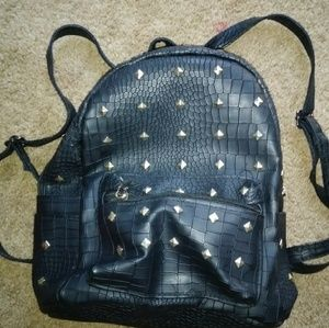 Handbags - Black mini backpack